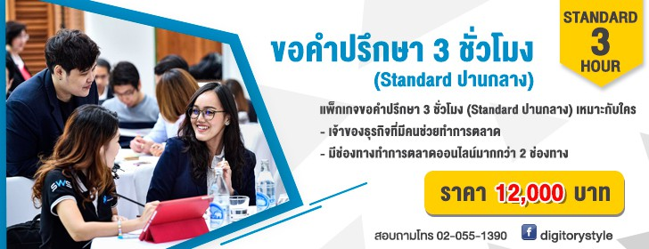 DIGITORY - Consultation - Standard 3 Hour - Banner Web