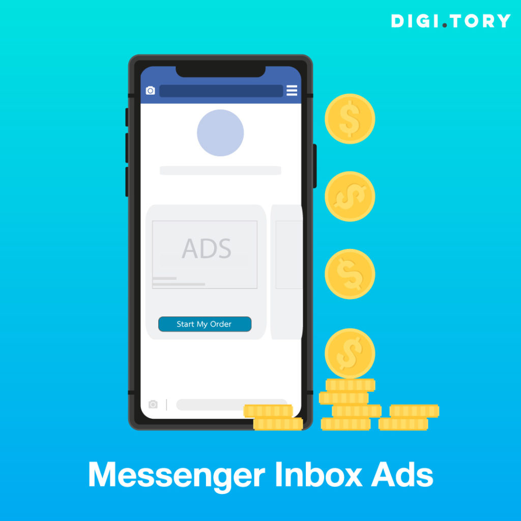 โฆษณา Facebook Messenger Ads Messenger Inbox Ads